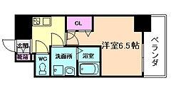 Core本町[12階]の間取り