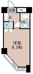 プレジデント稲沢[2階]の間取り