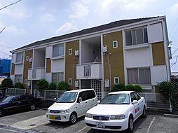 大阪府豊中市桜の町4丁目の賃貸アパートの外観