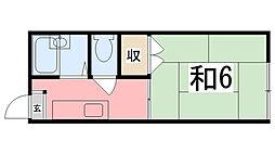シチズンシティハイツ[1階]の間取り