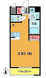 パインタワー[11階]の間取り