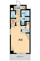 東京都中野区新井1丁目の賃貸マンションの間取り