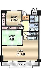 ポルト堺II[10階]の間取り