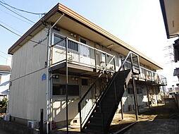 神奈川県綾瀬市上土棚北5丁目の賃貸アパートの外観