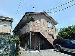栃木県鹿沼市緑町1丁目の賃貸アパートの外観