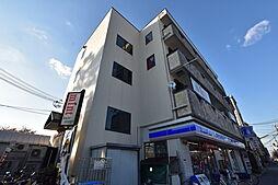 大阪府羽曳野市高鷲9の賃貸マンションの外観