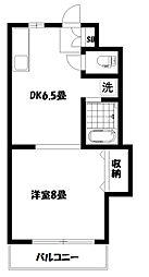 第10島田マンション[1階]の間取り
