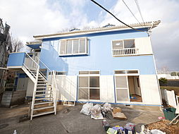 神奈川県厚木市愛名の賃貸アパートの外観