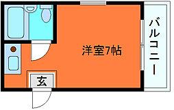 ダイドーメゾン岡本[3階]の間取り