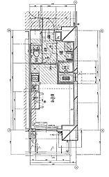 福岡市地下鉄七隈線 渡辺通駅 徒歩5分の賃貸マンション 12階1Kの間取り