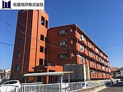 愛知県豊橋市牟呂町字内田の賃貸マンションの外観