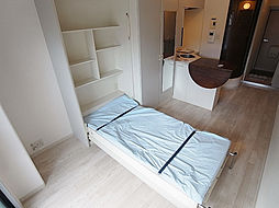 ラ・パルフェ・ド・シェリールの収納ベッドが有りスペースを有効活用出来ます