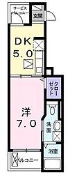 F・Pクレストグランデ[3階]の間取り