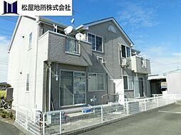 愛知県豊橋市梅薮町字折地の賃貸アパートの外観