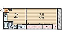 ハイクォリティ向陵[2階]の間取り