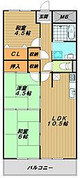 サンシャイン須磨[8階]の間取り