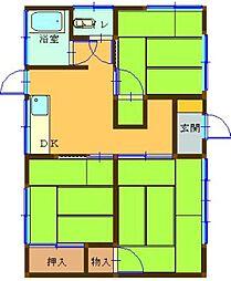 [一戸建] 福岡県大野城市筒井3丁目 の賃貸【/】の間取り
