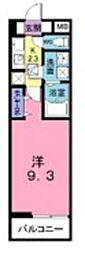 東武東上線 上福岡駅 徒歩20分の賃貸アパート 3階1Kの間取り