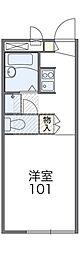 レオパレスグレートオブション[2階]の間取り