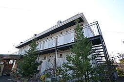 大阪府大阪狭山市半田3丁目の賃貸アパートの外観