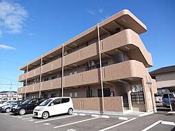 滋賀県東近江市林町の賃貸マンションの外観