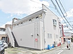 神奈川県大和市中央林間6丁目の賃貸アパートの外観