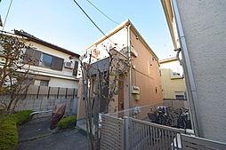 東京都杉並区松庵3丁目の賃貸アパートの外観