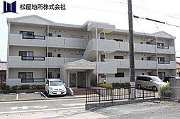 愛知県豊橋市中岩田3丁目の賃貸アパートの外観