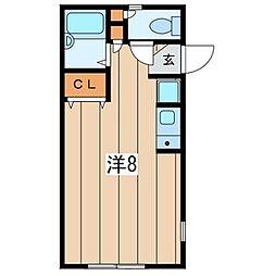 CASA北鎌倉[2階]の間取り