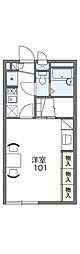 レオパレスマロンハイツ2[2階]の間取り