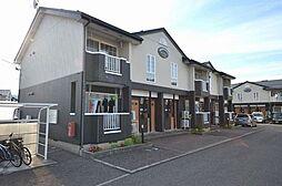 新潟県新潟市西蒲区巻甲の賃貸アパートの外観