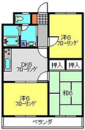 パストラルネムラ[1階]の間取り