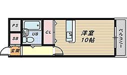 グリーンハイムINOUE[1階]の間取り