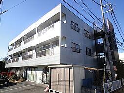 埼玉県草加市原町2の賃貸マンションの外観
