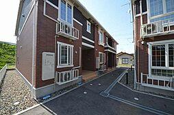 新潟県新潟市南区戸頭の賃貸アパートの外観