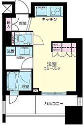 東京都文京区本郷4丁目の賃貸マンションの間取り