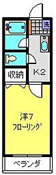神奈川県横浜市港南区上大岡西2丁目の賃貸マンションの間取り