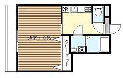 横浜元町ガーデン18[3階]の間取り