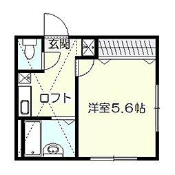 リーヴェルポート戸塚II[1階]の間取り