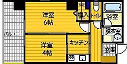 エコノ桜坂8[301号室]の間取り