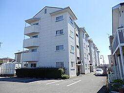 滋賀県守山市古高町の賃貸マンションの外観
