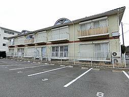 栃木県宇都宮市泉が丘1丁目の賃貸アパートの外観