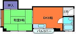グランディア六甲道駅前[5階]の間取り