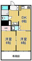 トリプルステーション菱屋西[4階]の間取り