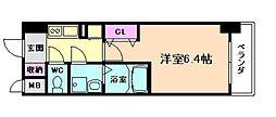 エスリード梅田西第5[7階]の間取り