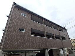 栃木県宇都宮市下戸祭2丁目の賃貸アパートの外観