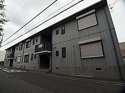 兵庫県神戸市須磨区行幸町2丁目の賃貸アパートの外観