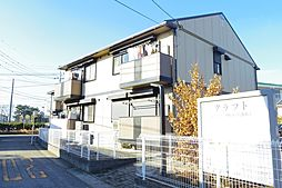 栃木県下野市祇園4丁目の賃貸アパートの外観