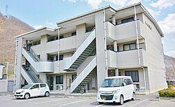 長野県千曲市大字上徳間の賃貸マンションの外観