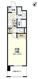 プロスペクト東雲橋[8階]の間取り